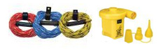 Tow Ropes and Air Pumps